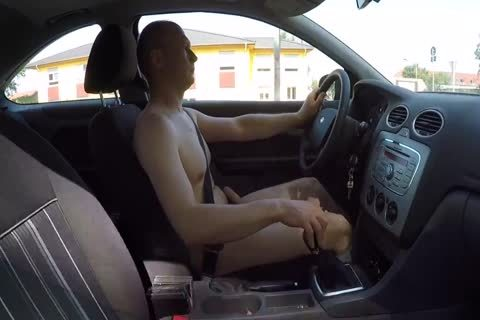 Drive bare And Masturbation Outdoor