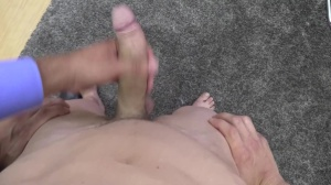 pumped up and manly lad got throat pounded