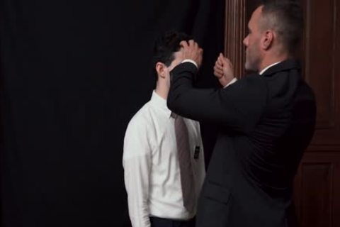 MormonBoyz - Priest Watches A Religious guy strokes him
