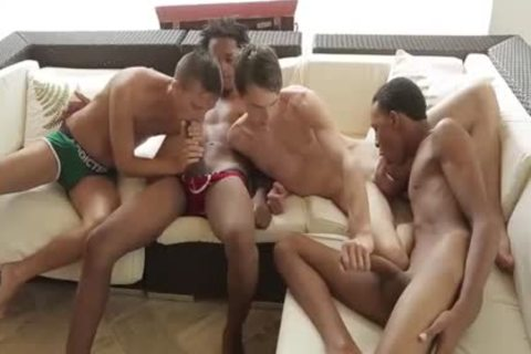 Mammoth black males In fuckfest