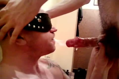 Deepthroating Some cock To Make It sperm