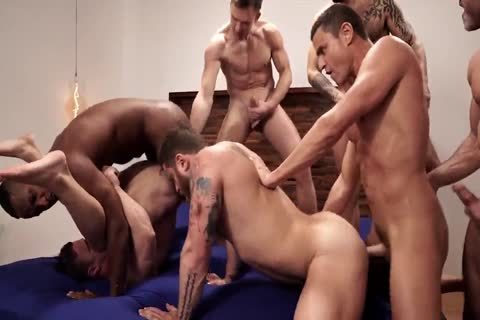The Lucas men group, group-sex, And nail (2)