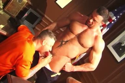 Jim Slade receives Nailed Muscle Penitentiary