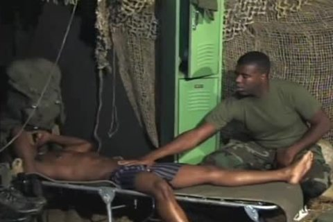 lascivious Soldiers Share A special moment together