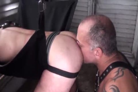 raw Leather Sling Bears With Jay Ricci And Bruce Bacch
