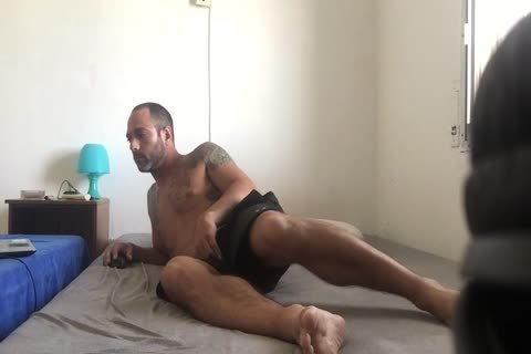 Hidden web camera Catches Roommate cam Model Broadcast Himself naked And Masturbating Showing Feet