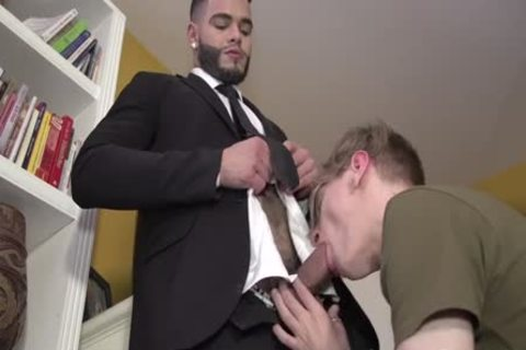 Latino With humongous plump penis And Hard Balls fucks Blond twink nude