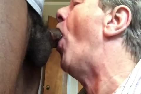 daddy man loves black cock!
