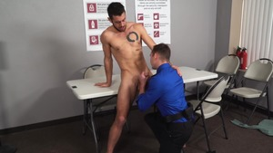 What's Up His booty - Jackson Traynor American Hook up