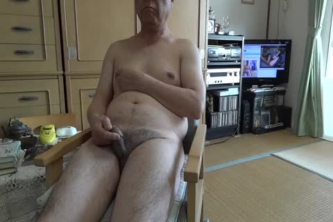 old chap Masturbates And Drinks His sex semen