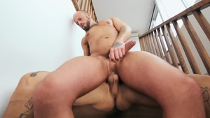 Athletic Edan Wolf uncover big dick