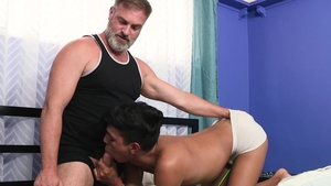 Family Dick - Student Kristofer Weston helps with fucking