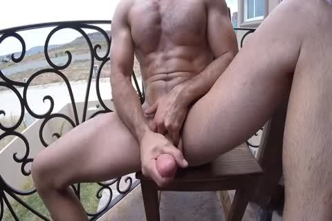Brock Cooper naked Coffee & Balcony Jackoff