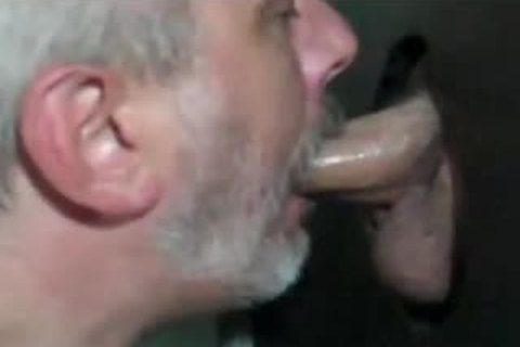 Grey Bearded mature Shows How To engulf At GH: oral-HJ-gulp