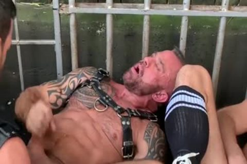 Leather Gear gang pound
