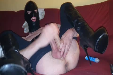 fresh Fetish twink In Leather Jerk Dig!