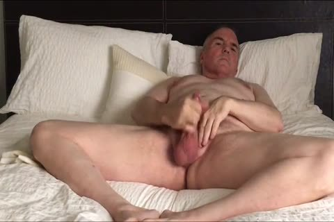 Stroking My petite cock And Eating My Load