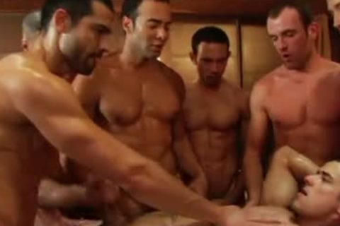 SEX homo video gang gangbang fuckfest By GrzeGoRzUni1988