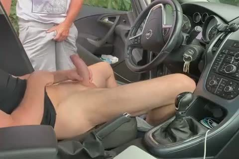 engulf And cook jerking In The Car two