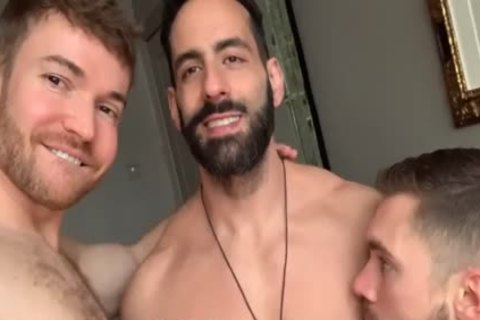 you Know I Love A man With Super Sensitive teats; It Makes It So tight To Please both His dong And H