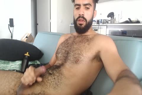 hairy Latin twink Cums Twice