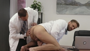 IconMale.com - American Michael Roman butt sex in office