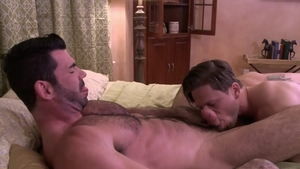 IconMale.com: Gay Roman Todd with hairy Billy Santoro butt sex