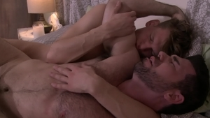 Icon Male: Hard nailining with hairy DILF Billy Santoro