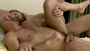 IconMale.com - Nailed rough with Adam Russo among Wolf Hudson