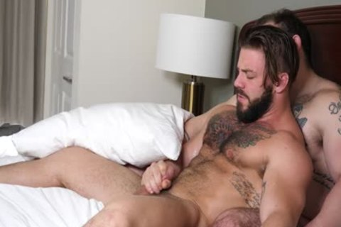 hairy Muscle guys pound raw
