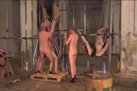 submissive twinks Tormented And drilled In rough bare Foursome
