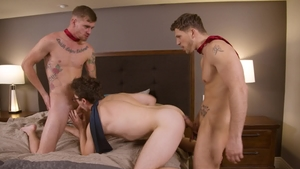 NextDoorBuddies: Raw sex with muscled Roman Todd & Ryan Jordan