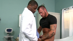 ExtraBigDicks - Gay Adonis Couverture shows huge dick
