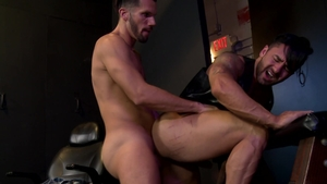 ExtraBigDicks - Bruno Bernal jerking Marco Lorenzo huge cock