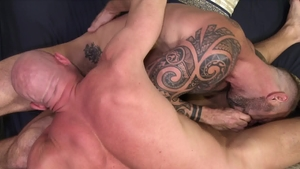 Extra Big Dicks: Gay Vic Rocco anal fucking