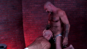 Bear Back - Jax Hammer have fun with big penis daddy
