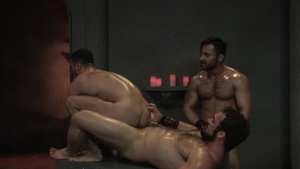 RagingStallion - Hairy Jaxton Wheeler masturbating