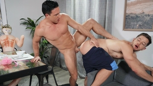 Drill My Hole: Johnny Donovan & Reese Rideout blowjob cum
