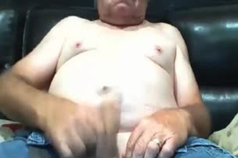 grandad spooge On webcam