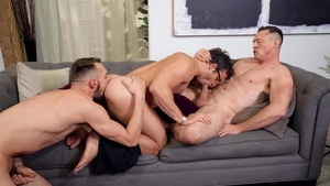 Drill My Hole - Johnny B as well as Pierce Paris threesome