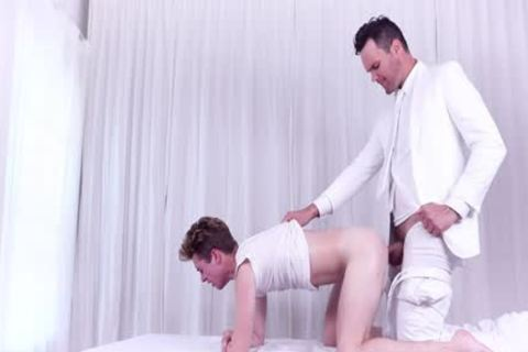 Devoted Missionary lad Jake Hill Rewarded With special Massage By Priest