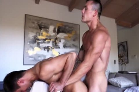 straight penis Loses anal VIRGINITY! Flip plow Action!