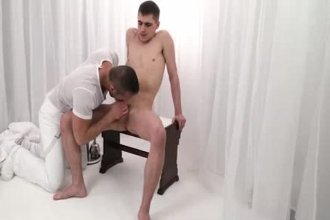 MormonBoyz - Daddy drills twink bare In Office